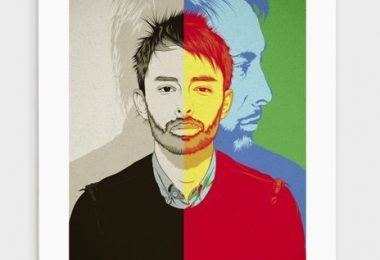 Thom Yorke ||| RADIOHEAD- Numbered Art Print by CranioDsgn from Curioos