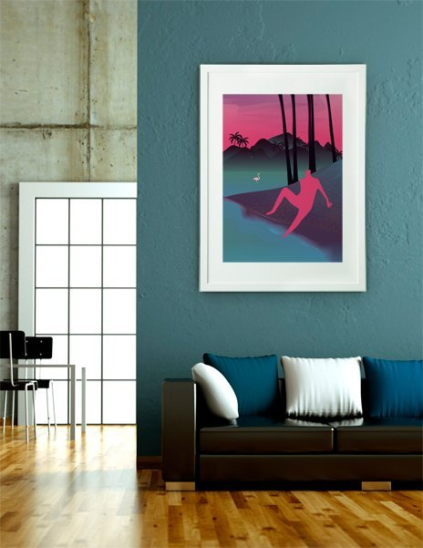 Vacation, Fine Art Print by Martynas Pavilonis
