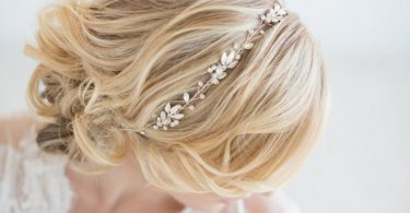 Wedding Hair Vine  Gold Bridal Headpiece Silver Bridal