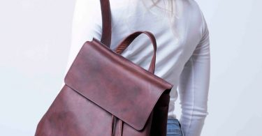 Women Leather Backpack Women Leather Brown Backpack