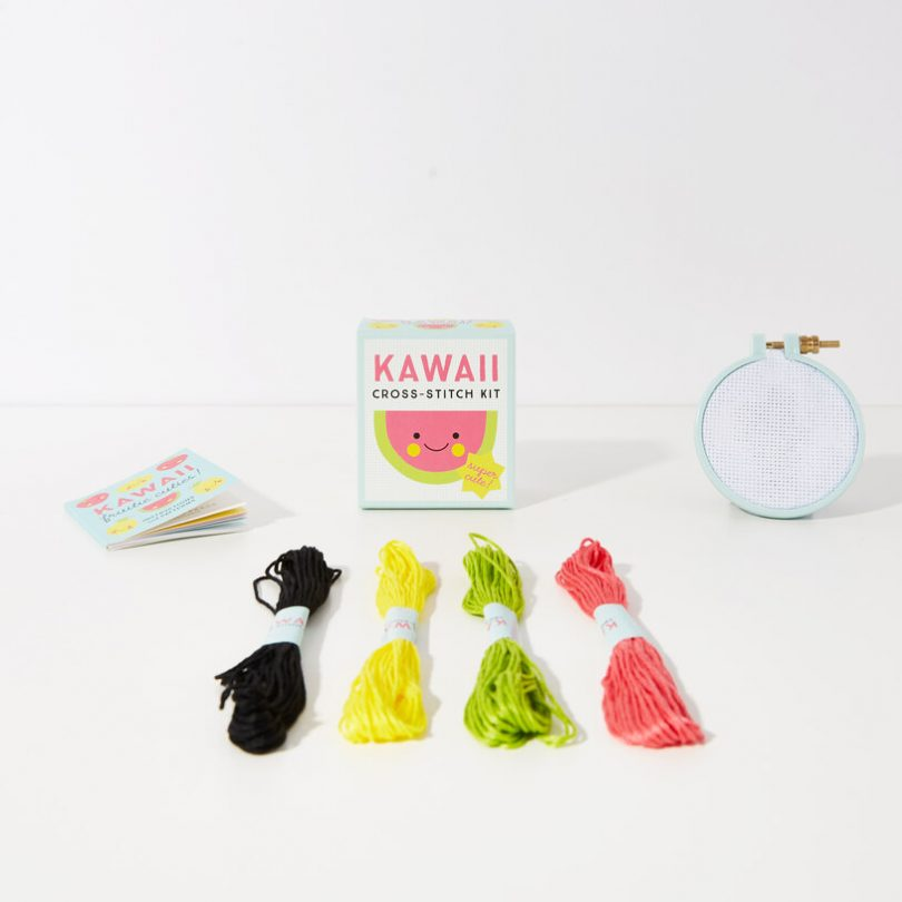 World's Smallest Kawaii Cross-Stitch Kit