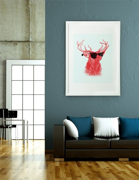 Young Buck, Fine Art Print by Nick Nelson