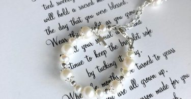 Baptism to Wedding Bracelet-Goddaughter Gift-Granddaughter