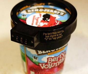 Ben & Jerry's Ice Cream Lock