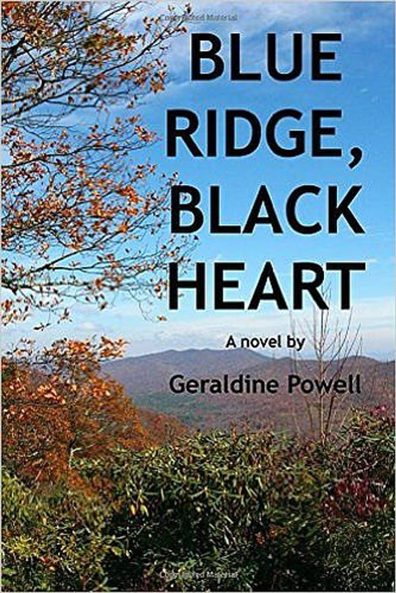 Blue Ridge Black Heart the new novel by Orchid Gallery owner