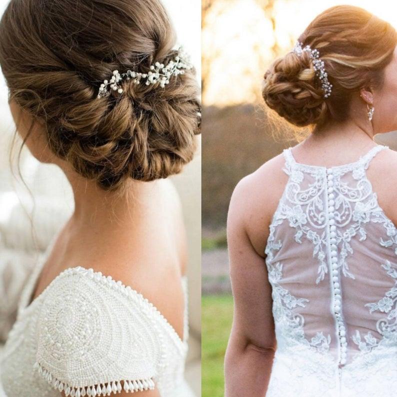 Bridal Hair Accessories Wedding Hair Accessory Delicate Hair