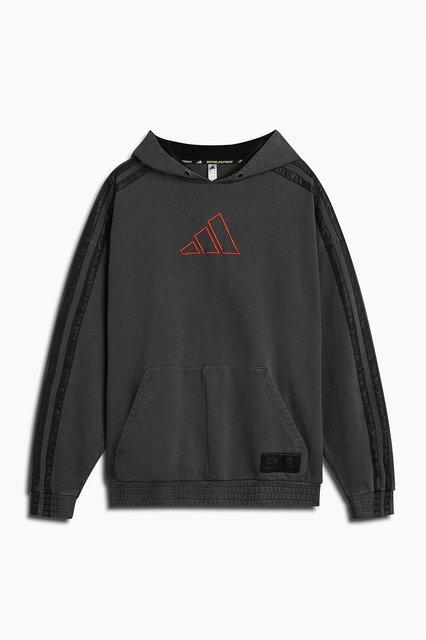 DP adidas Basketball x Harden hoodie / vintage black