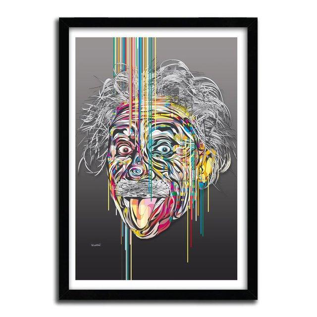 Einstein Print by AFUDESIGN