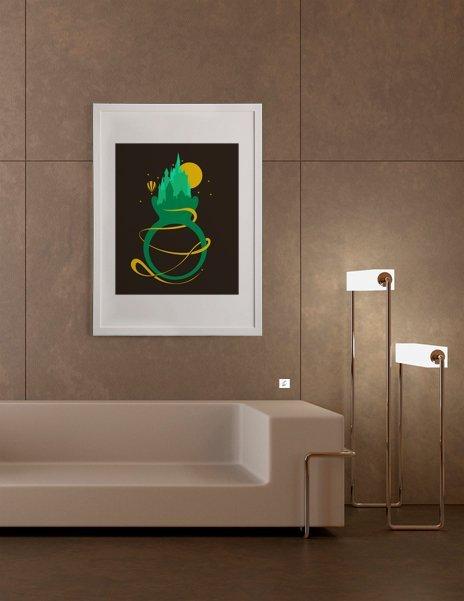 Emerald Ring, Fine Art Print by Tobe Fonseca