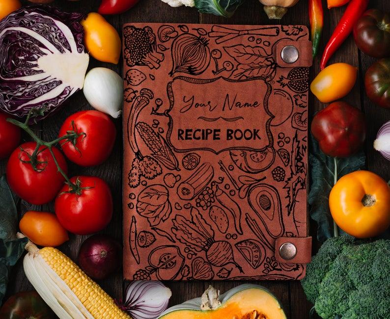 Family recipe book/Custom recipe book/Printable recipe/A5