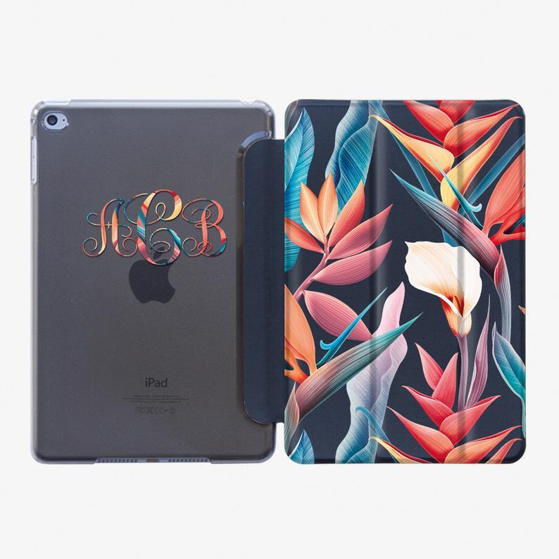 Floral Case Smart Cover iPad Air 3 2019 Case iPad Pro 10.5