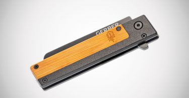 Gerber Quadrant Bamboo Folding Knife