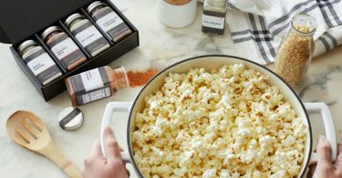 Gourmet Popcorn seasoning  Personalized flavored popcorn