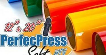 HTV PerfecPress Soft Heat Transfer Vinyl Tshirt Vinyl Iron