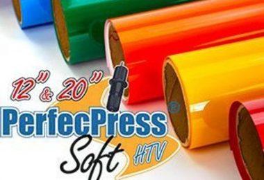 HTV PerfecPress Soft Heat Transfer Vinyl Tshirt Vinyl Iron