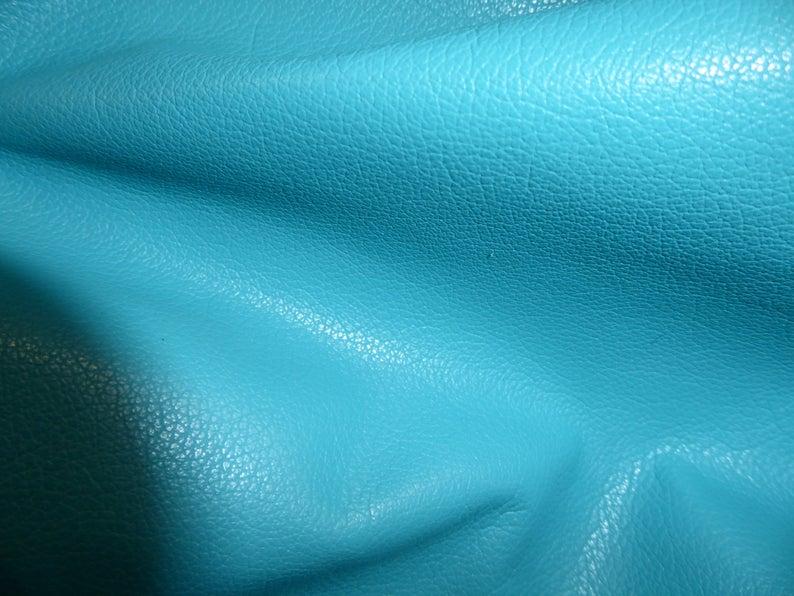 Leather 12×12 Divine TRUE TURQUOISE top grain