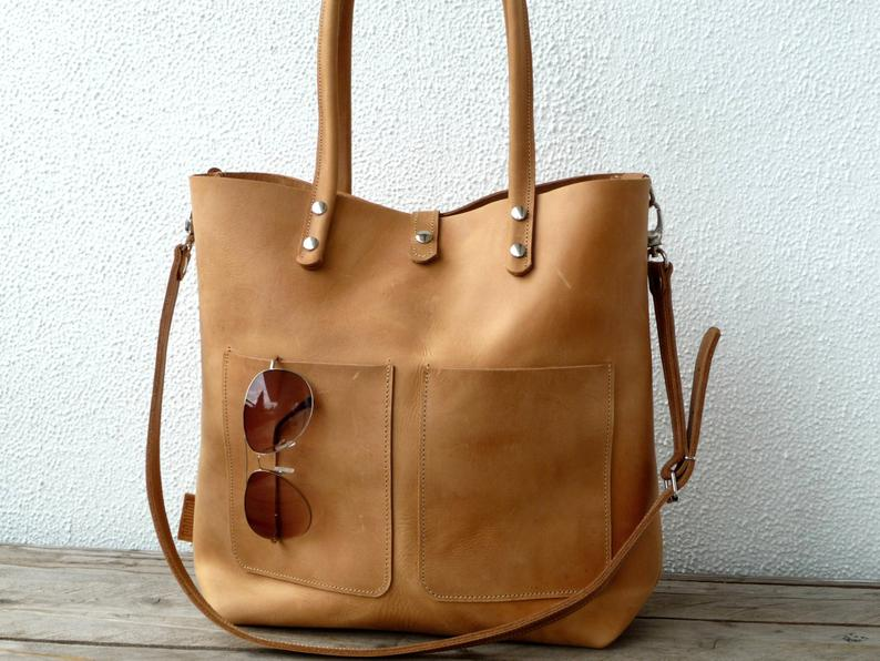 Leather bag large leather bag big leather bag leather bag