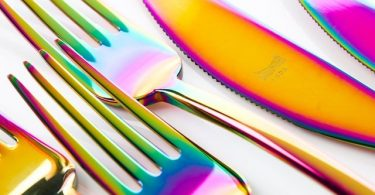 Linea Rainbow 24 Piece Cutlery Set