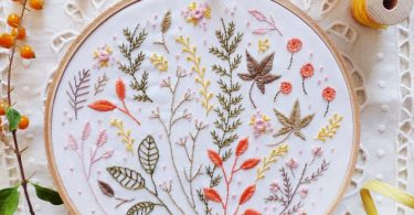 Modern hand embroidery Craftily creative Embroidery kit