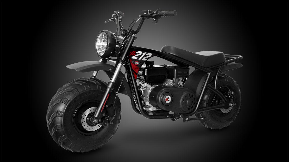 Monster Moto Classic 212cc Mini Bike