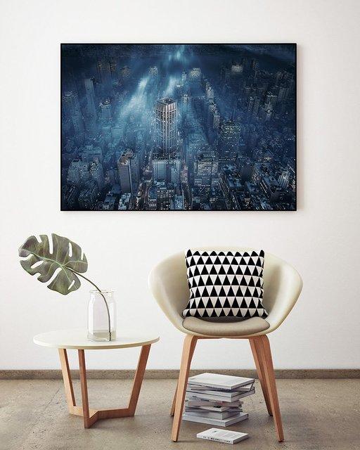 """NYC"" Art Block Framed by Giant Art"