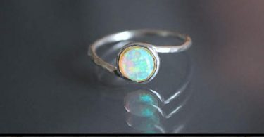 Opal ring. Opal Fire Ring. mothers day gift. October