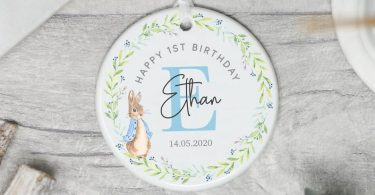 Personalised Birthday Gift Baby's Birthday Keepsake Gift