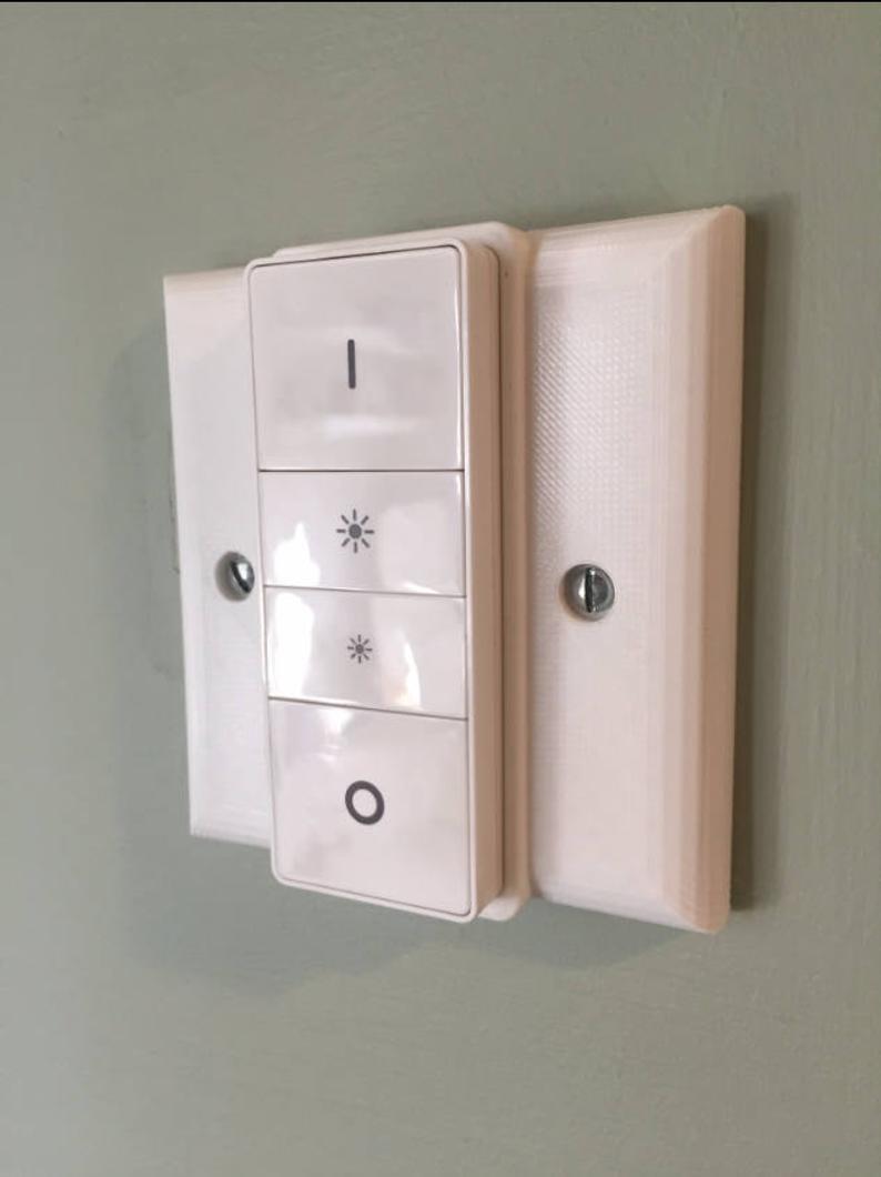 Philips HUE Dimmer UK Single Light Switch cover