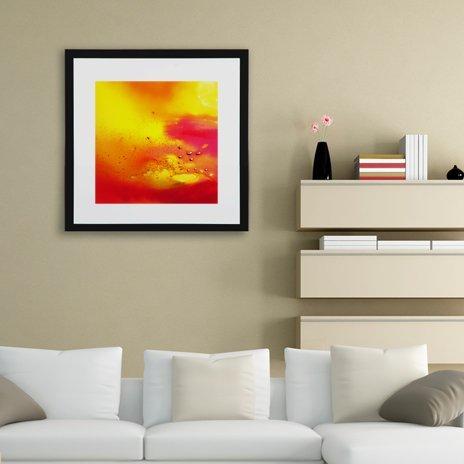 Pinklake 2, Fine Art Print by Pier Mahieu