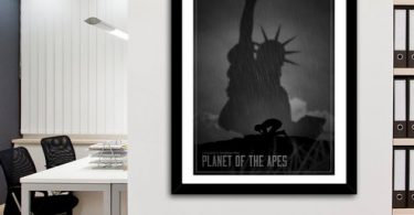 Planet Of The Apes A La Limbo, Fine Art Print by Segap
