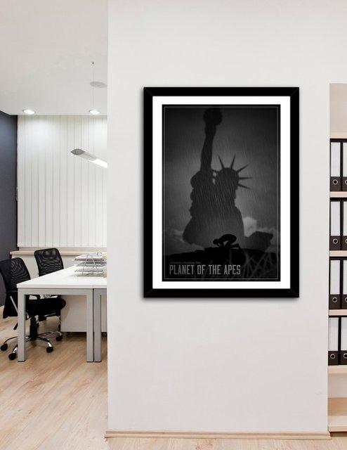 Planet Of The Apes A La Limbo, Fine Art Print by Segap