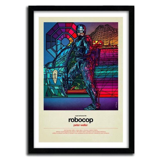 ROBOCOP Print by Van Orton