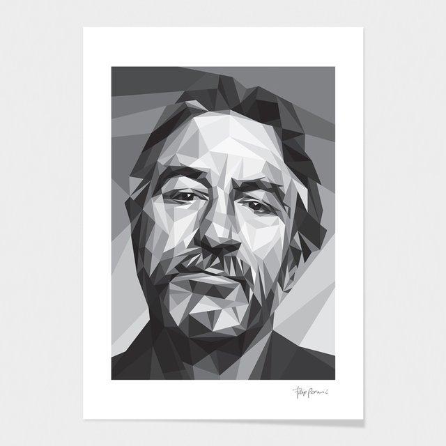 Robert De Niro Fine Art Prints by Filip Perai