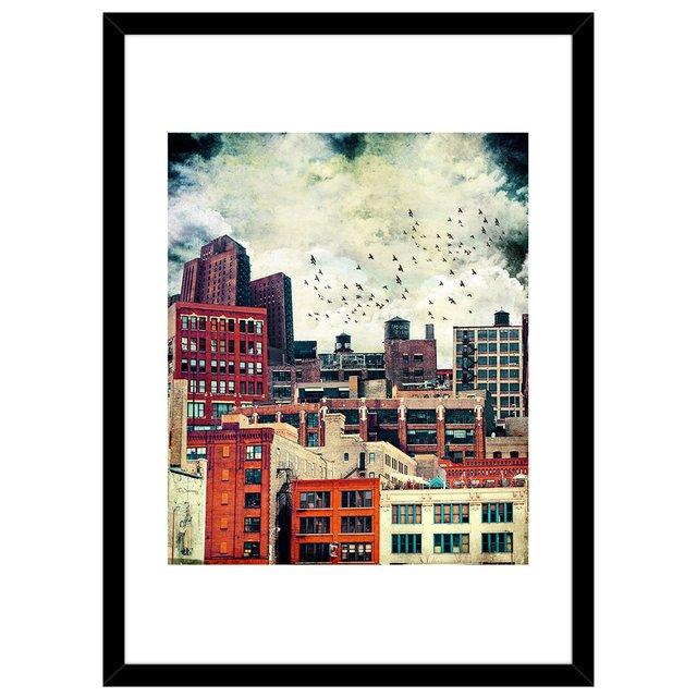 Rooftop #6 Fine Art Print by Tim Jarosz