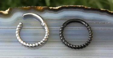 Septum Ring Clicker  Septum Hoop  Septum Piercing  Septum