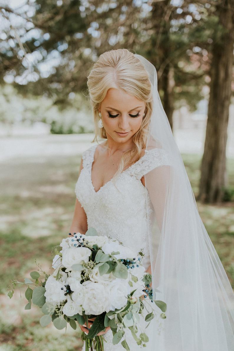 Sheer Soft Wedding Veil
