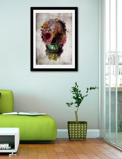 Skull 2, Fine Art Print by Ali Gulec