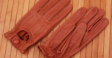 Soft sheep leather Fashion gloves