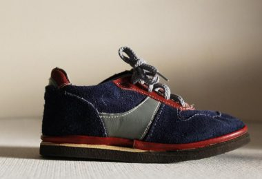 Soviet Kids Sneakers Vintage New Old Stock Blue and  Brown