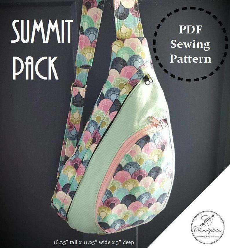 Summit Pack: DIGITAL Sewing Pattern