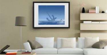 To Charles Fort, Fine Art Print by Alex Andreev