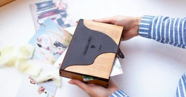 WOODEN BOX for a photo  Photo storage box
