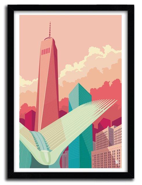 WTC Art Print by REMKO HEEMSKERK