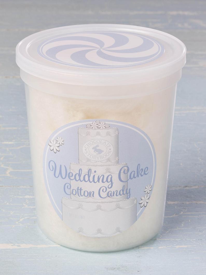 Wedding Cake Cotton Candy
