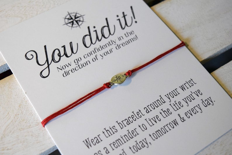 You Did It  Congratulations Card  Graduation gift  College