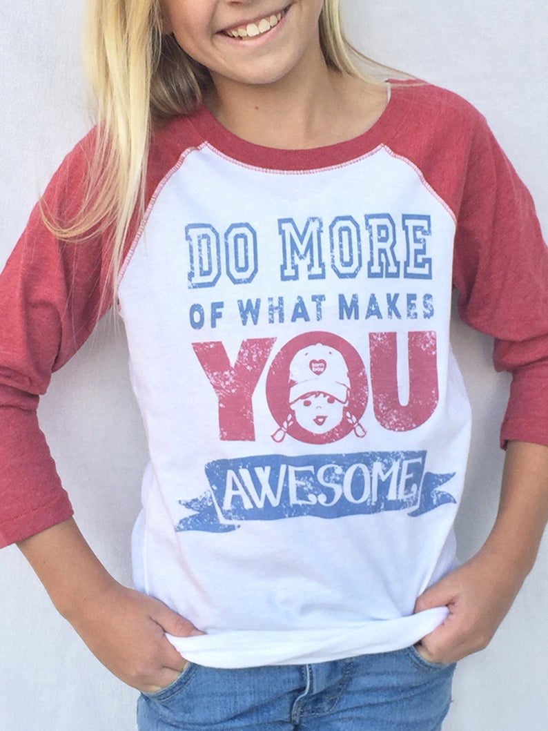 Baseball Raglan Tee Quotes T Shirts Do More Of What Makes YOU