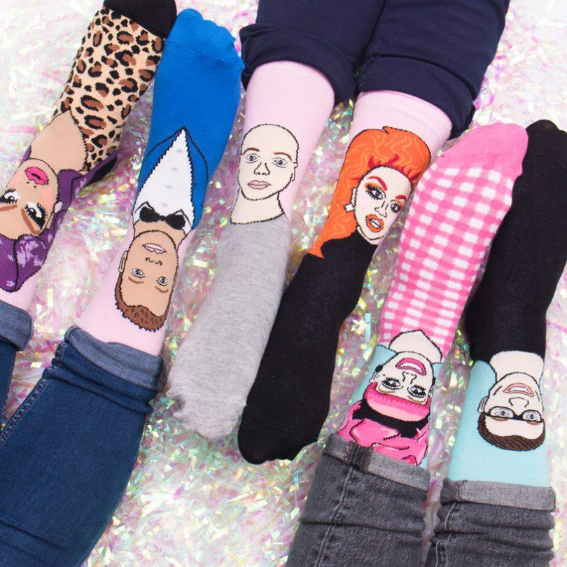 Be A Drag Queen Socks