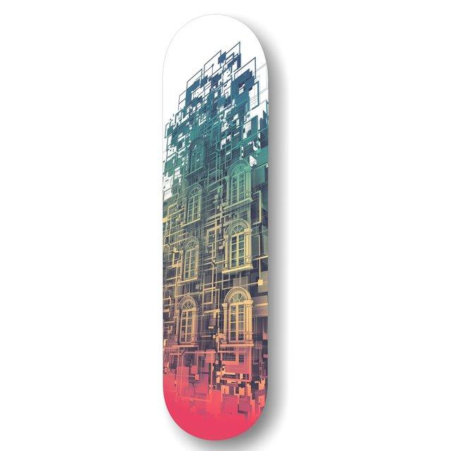 Conception Skateboard Deck by Falcao Lucas