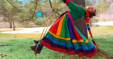 Dream Coat by Katwise Upcycled Sweater TUTORIAL  Rainbow