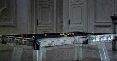 Filotto Glass Pool Table